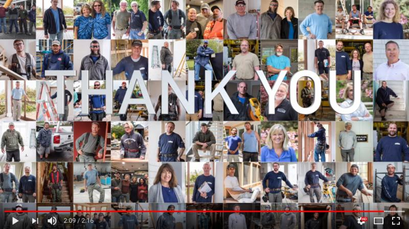 Employee Appreciation Video
