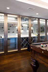 Chatham wine cellar