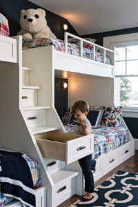 Custom Bunk Bed Drawers