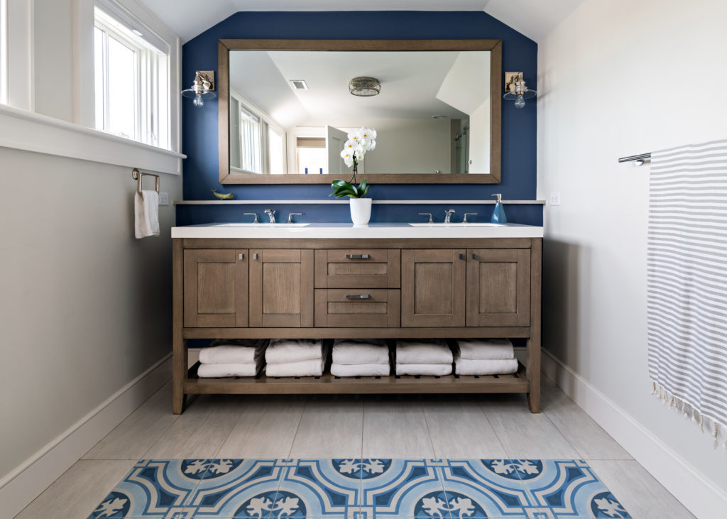Bathroom trend - blue