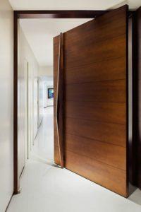 Pivot Door - front