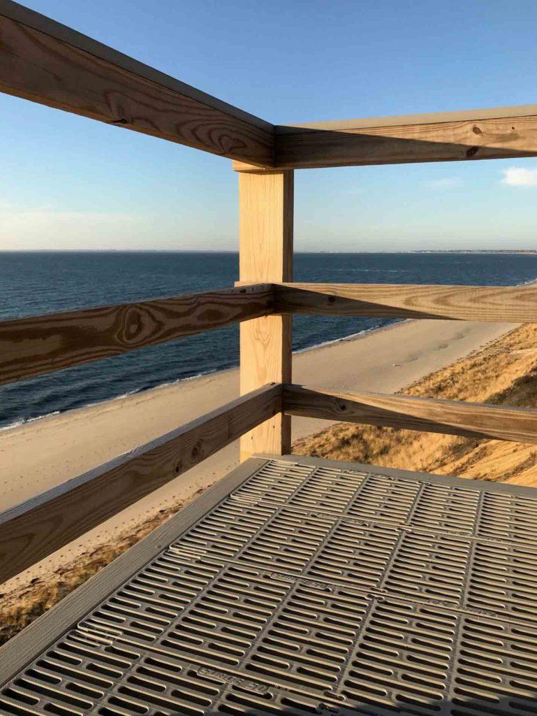 Beach Stairs Platform